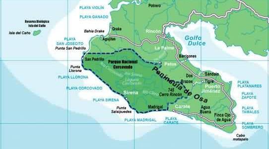 Península de Osa (Corcovado)